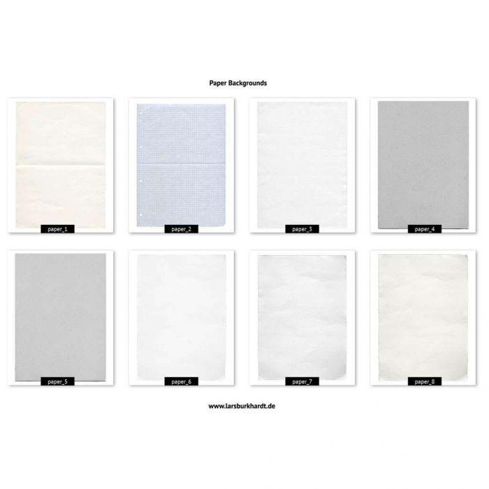 Papier Texturen - Vorschau